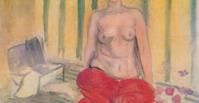 Last summer the FBI returned this painting Odalisque in Red Pants by French artist Henri Matisse to Venezuela