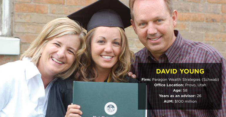 Advisors With Heart Awards 2015: David Young