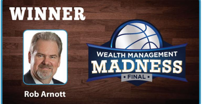 Rob Arnott Wins Wealth Management Madness 2015
