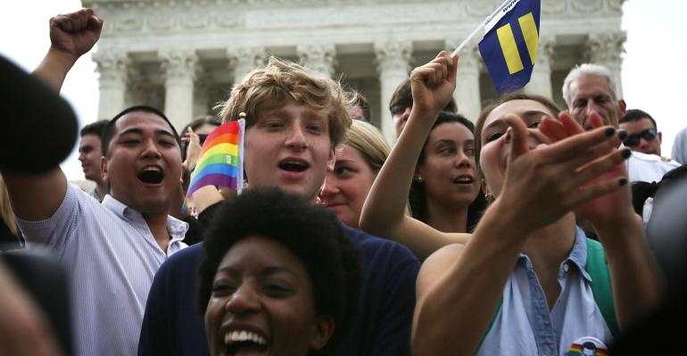 U.S. Supreme Court Rules State Law Bans on Same-Sex Marriage Are Unconstitutional