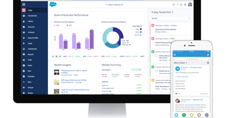 Salesforce to Launch New Advisor-Centric Platform