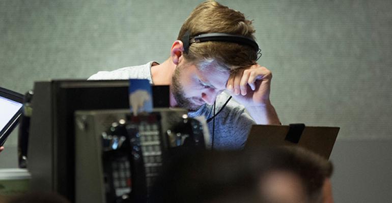 Wall Street Tumbles Again as S&P Enters Correction