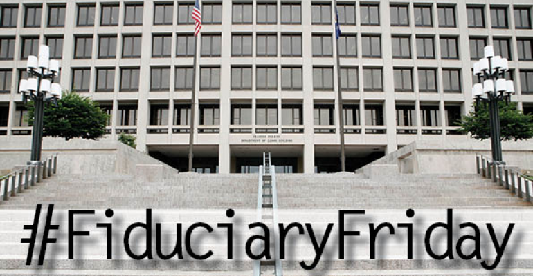 DOL Fiduciary Threatens to Eliminate Advisor Flexibility