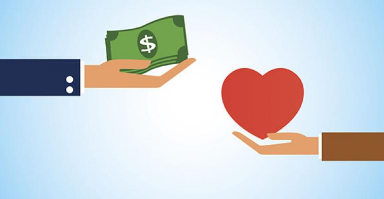 For Love or Money?