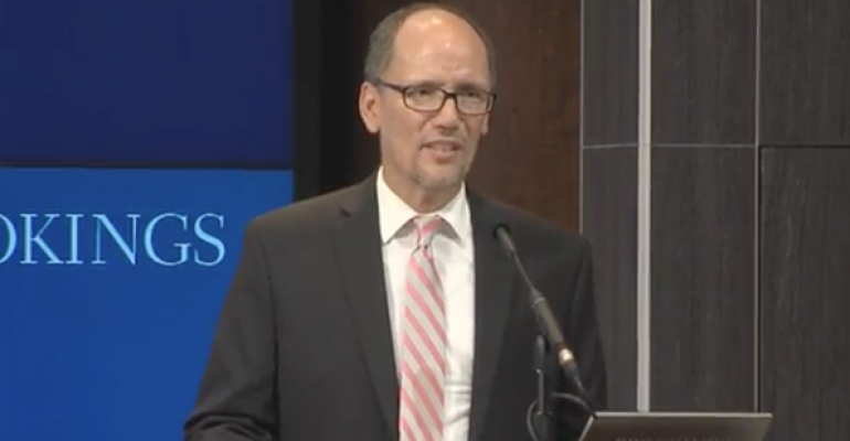 Perez: Industry Can Adapt to Fiduciary Rule