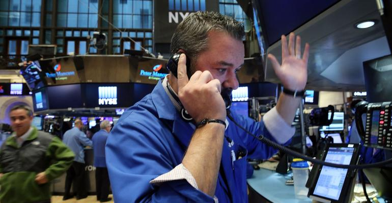 Wall St. on Track for Worst Day Since September