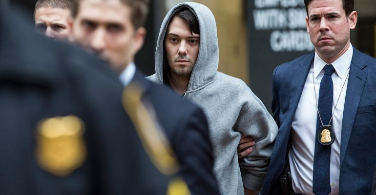 Turing CEO Martin Shkreli Arrested for Securities Fraud