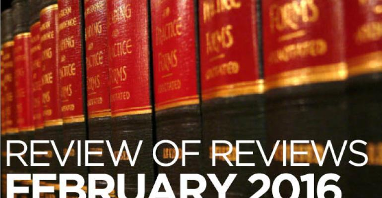 """Review of Reviews: """"Pay It Forward? Law and the Problem of Restricted-Spending Philanthropy,"""" 92 Wash. Univ. L. Rev. __ (forthcoming, 2016)"""