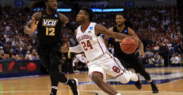 Buddy Hield 24 and the Oklahoma Sooners will face the Texas AampM Aggies in the Sweet 16 of the NCAA Men39s Basketball Tournament
