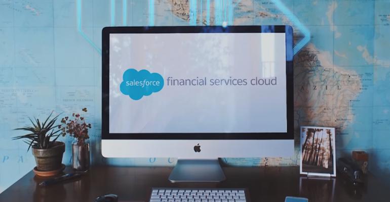 Salesforce's Wealth Management CRM Goes Live