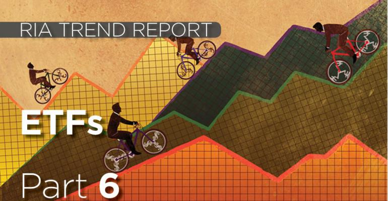 RIA Trend Report 2016: Providers Most Closely Associated with ETFs