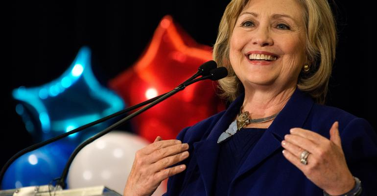 Wall Street Is Bullish for Hillary