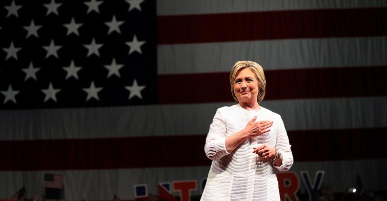 The presumptive Democratic Party nominee