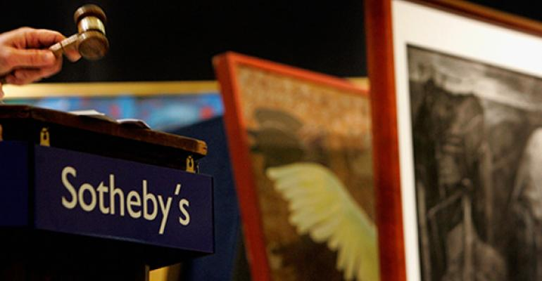 As Art Market Slows, Some Investors Get Paid to Bid at Sotheby's