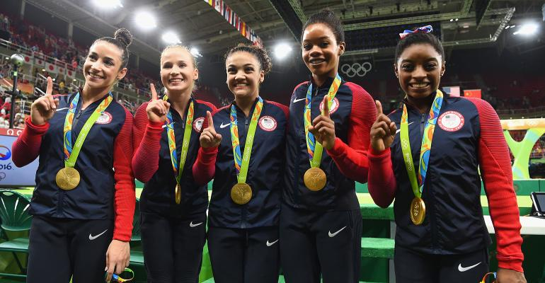 USA gymnastics team gold medal