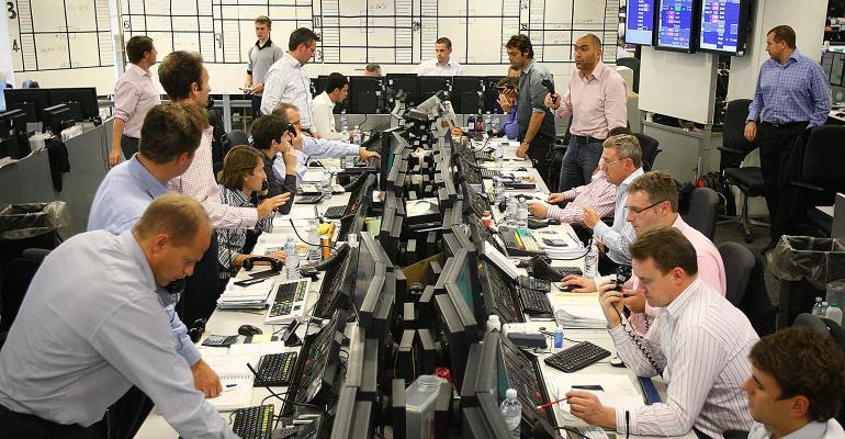 traders desks