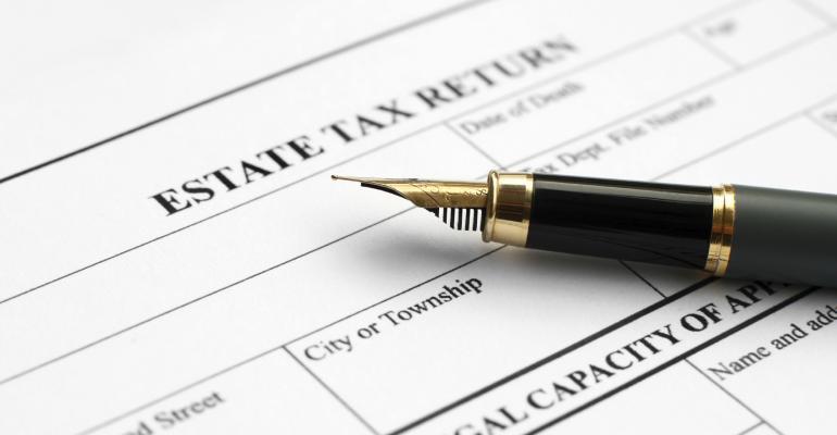 estate tax form