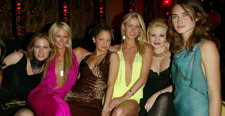 Paris Hilton Nicole Ritchie friends
