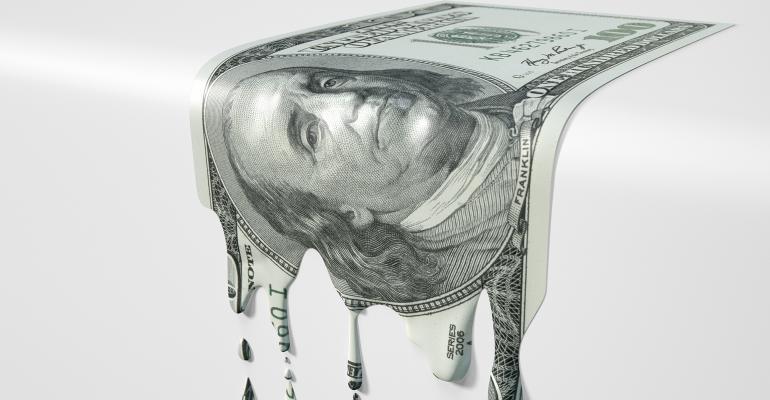 melting money