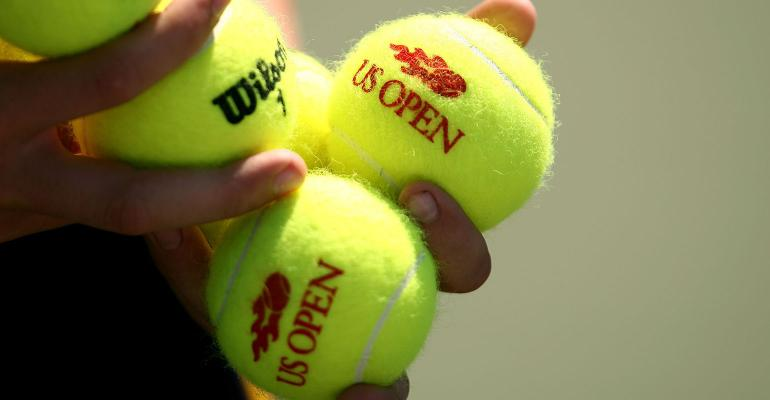 U.S. open tennis balls