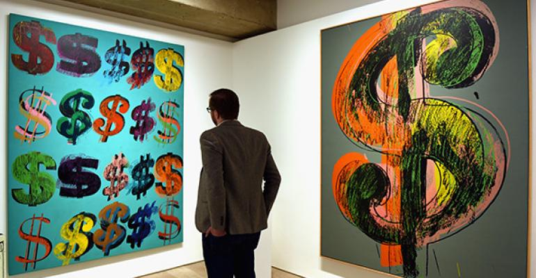 Warhol art auction