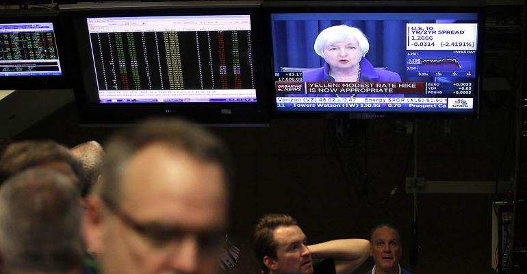 Janet Yellen rate hike stock market
