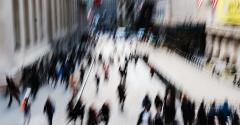 Wall Street blur