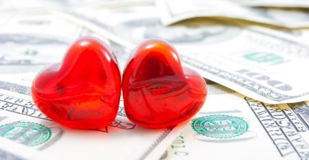hearts dollars