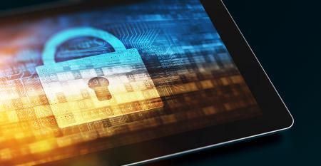 tablet digital lock