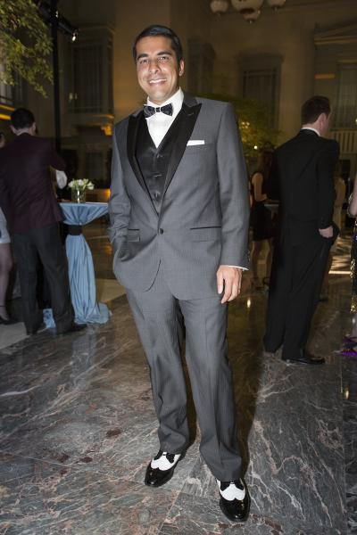 Neal Goyal at the UCCRF Gatsby gala in March. Photo sourced from SocialLife Chicago.